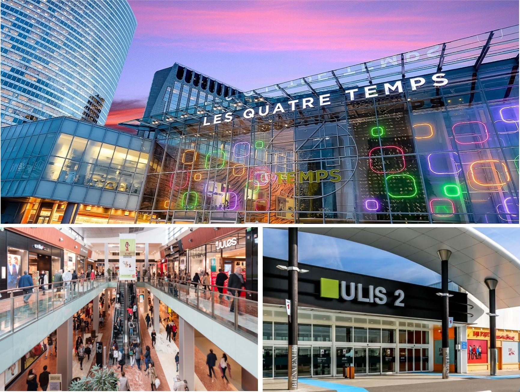 Centres commerciaux accueillants les Villages des Saveurs 2017