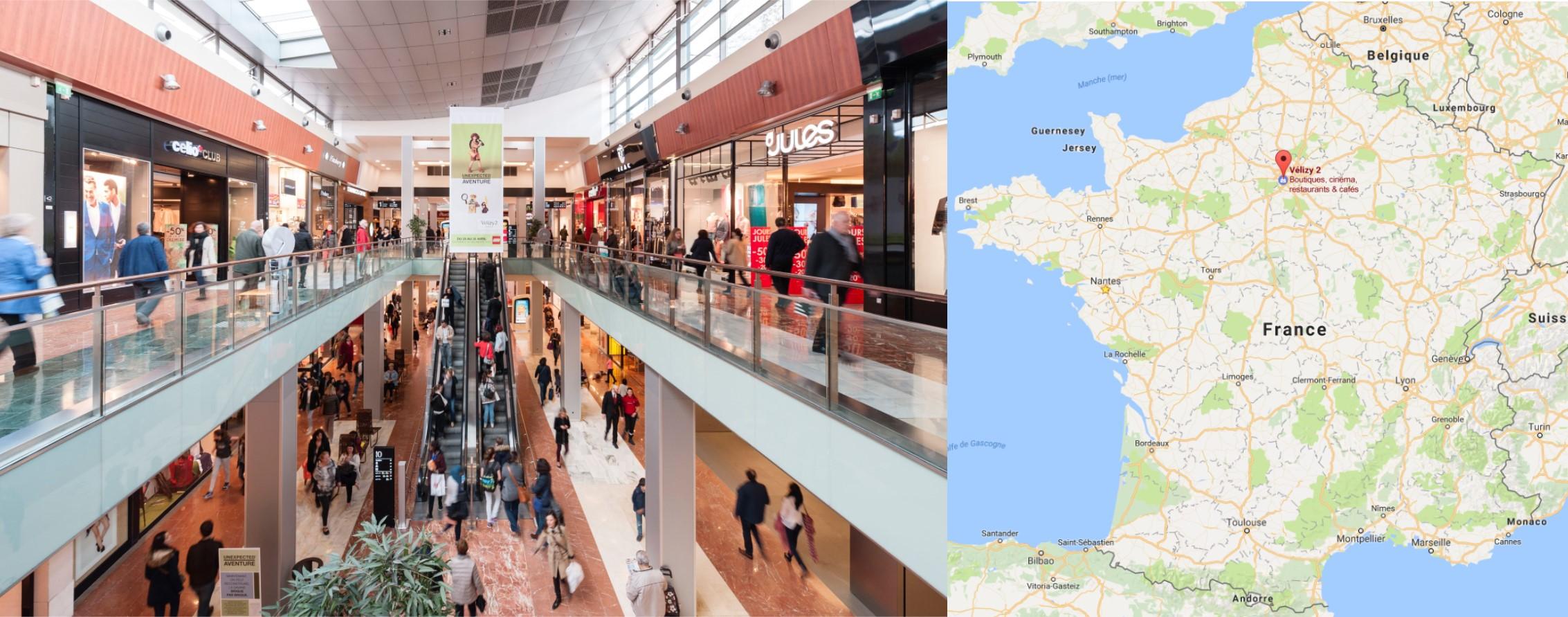 Centre commercial Vélizy 2