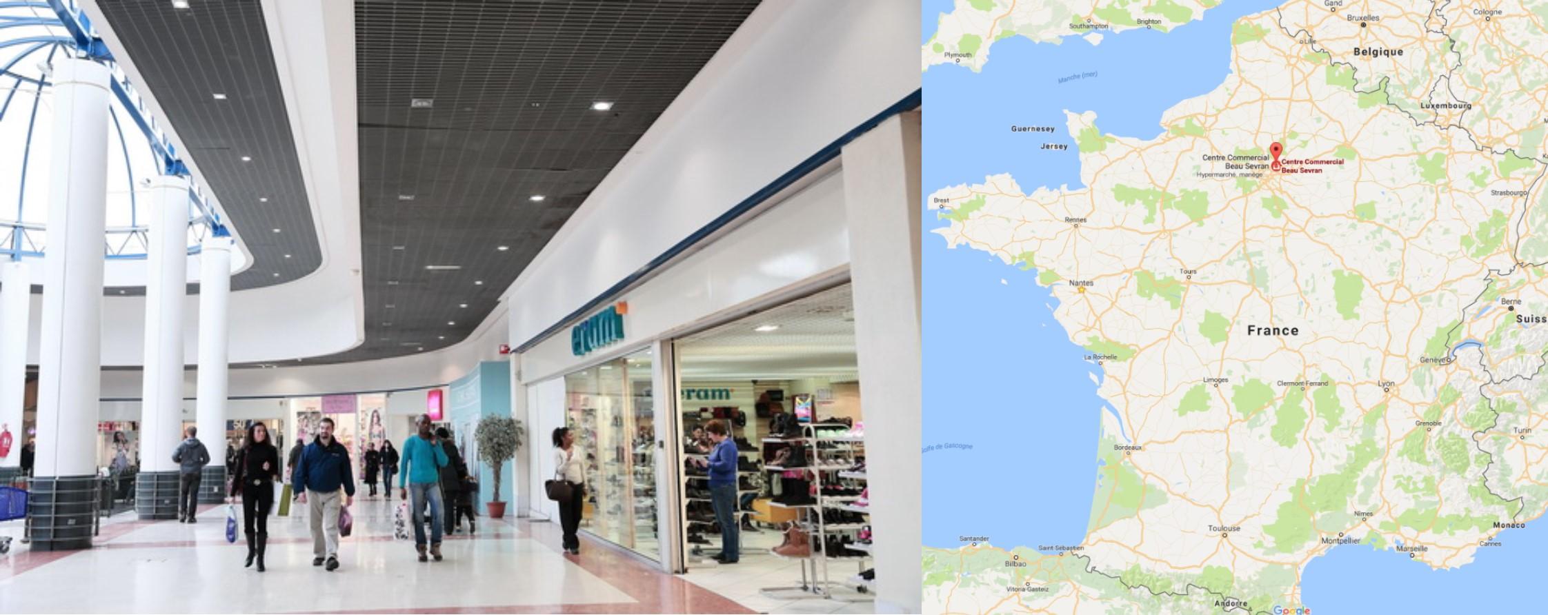 Centre commercial Beau Sevran