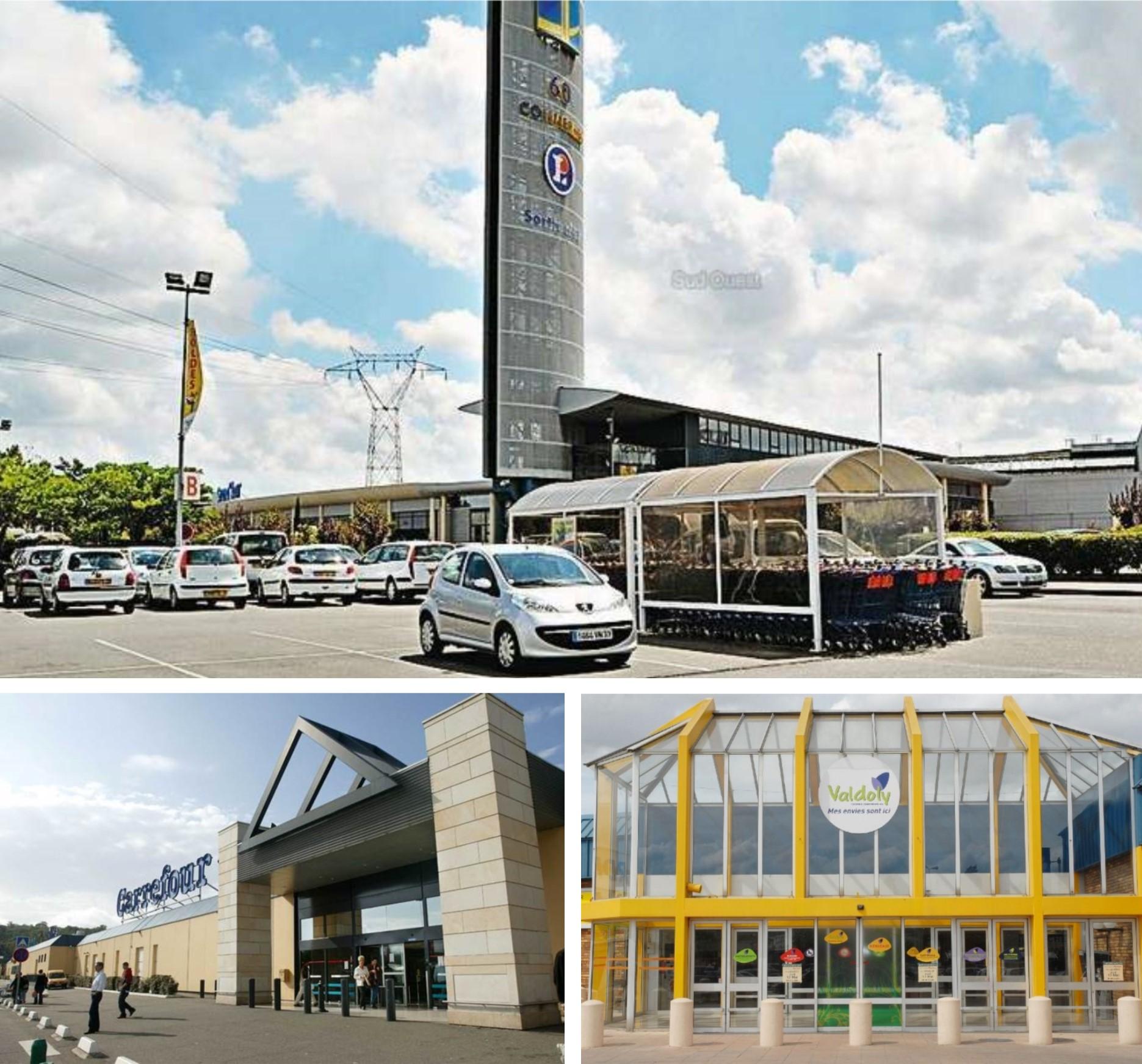 Nos centres commerciaux partenaires