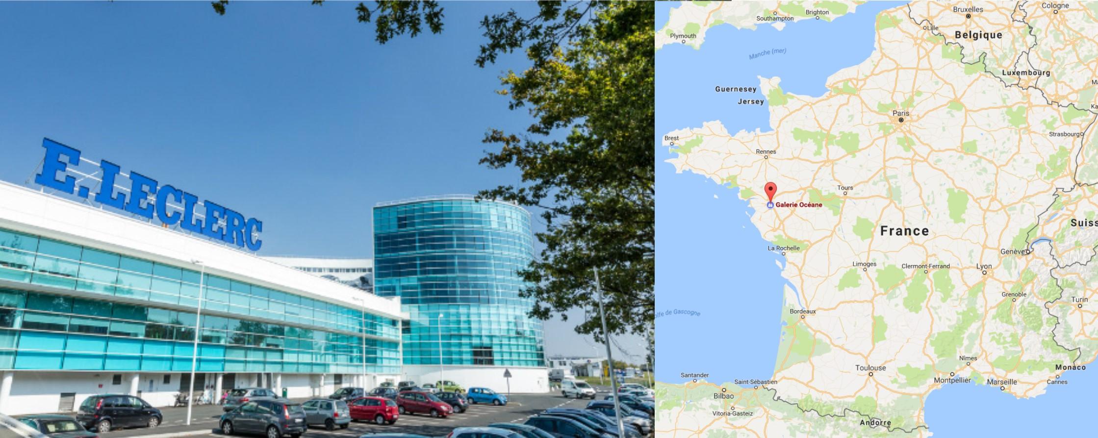 Centre commercial Rezé Océane