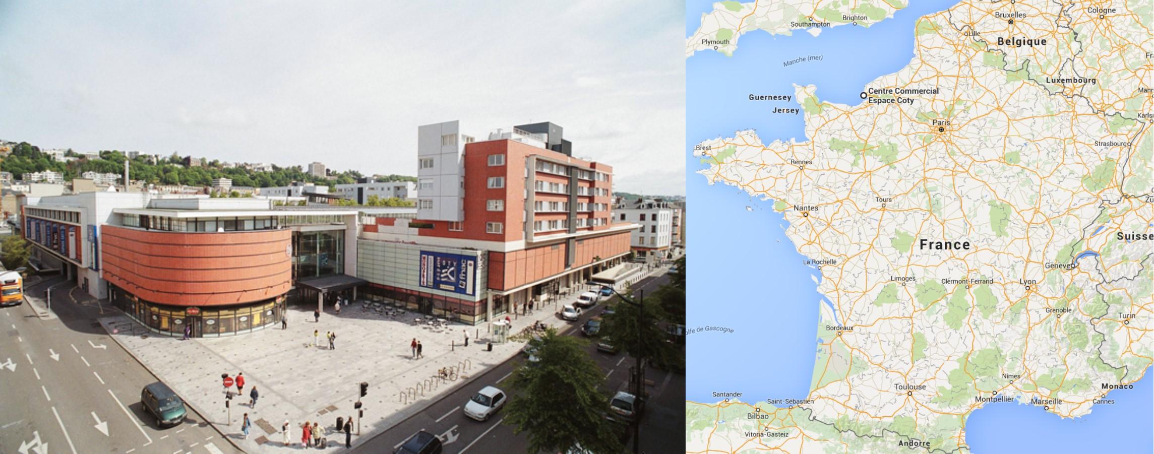 Centre commercial Espace Coty