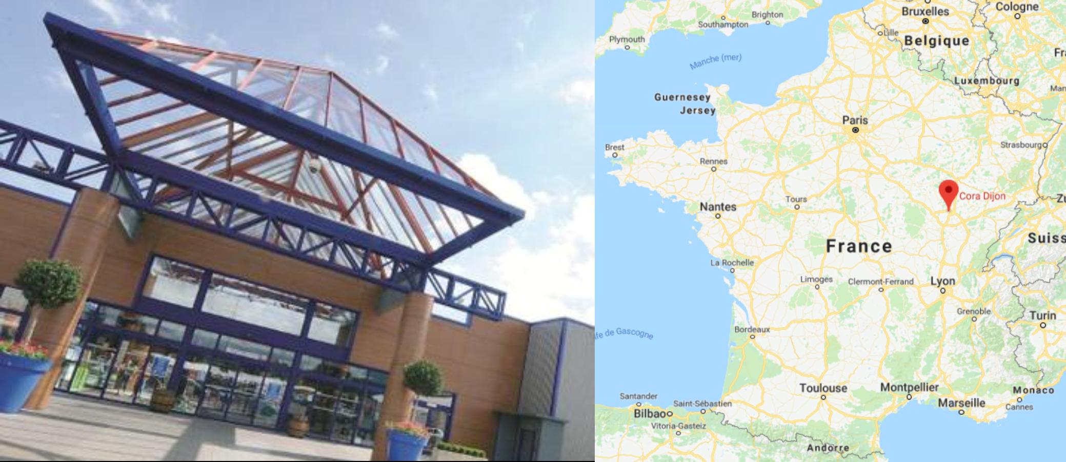 Centre commercial Cora Dijon