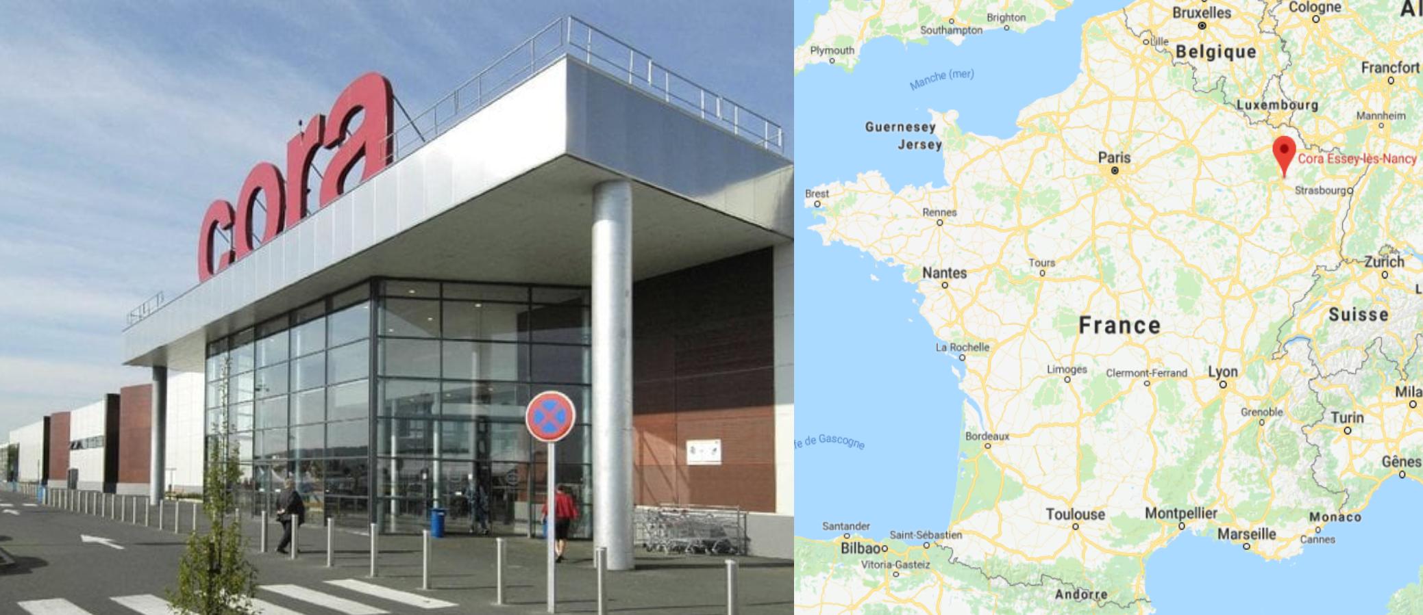Centre commercial Cora Essay-lès-Nacy