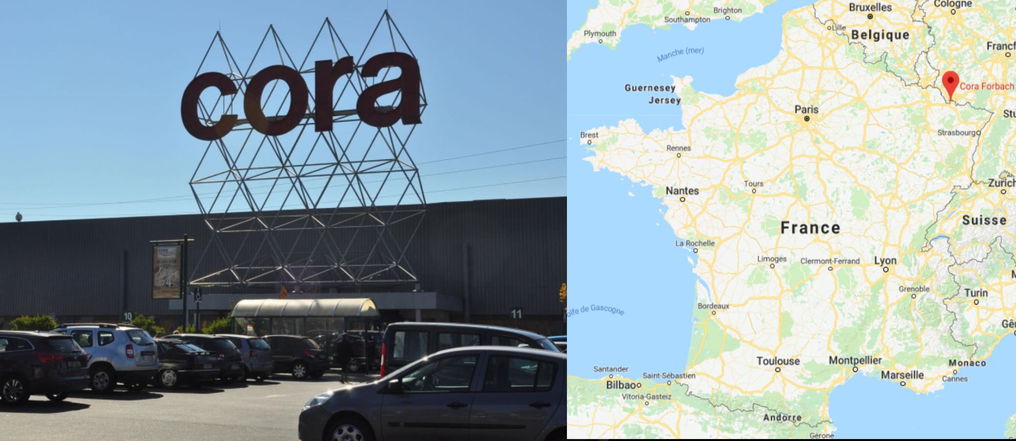 Centre commercial Cora Florbach