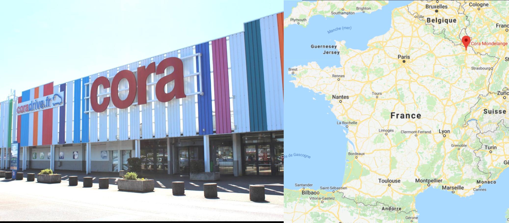 Centre commercial Cora Mondelange