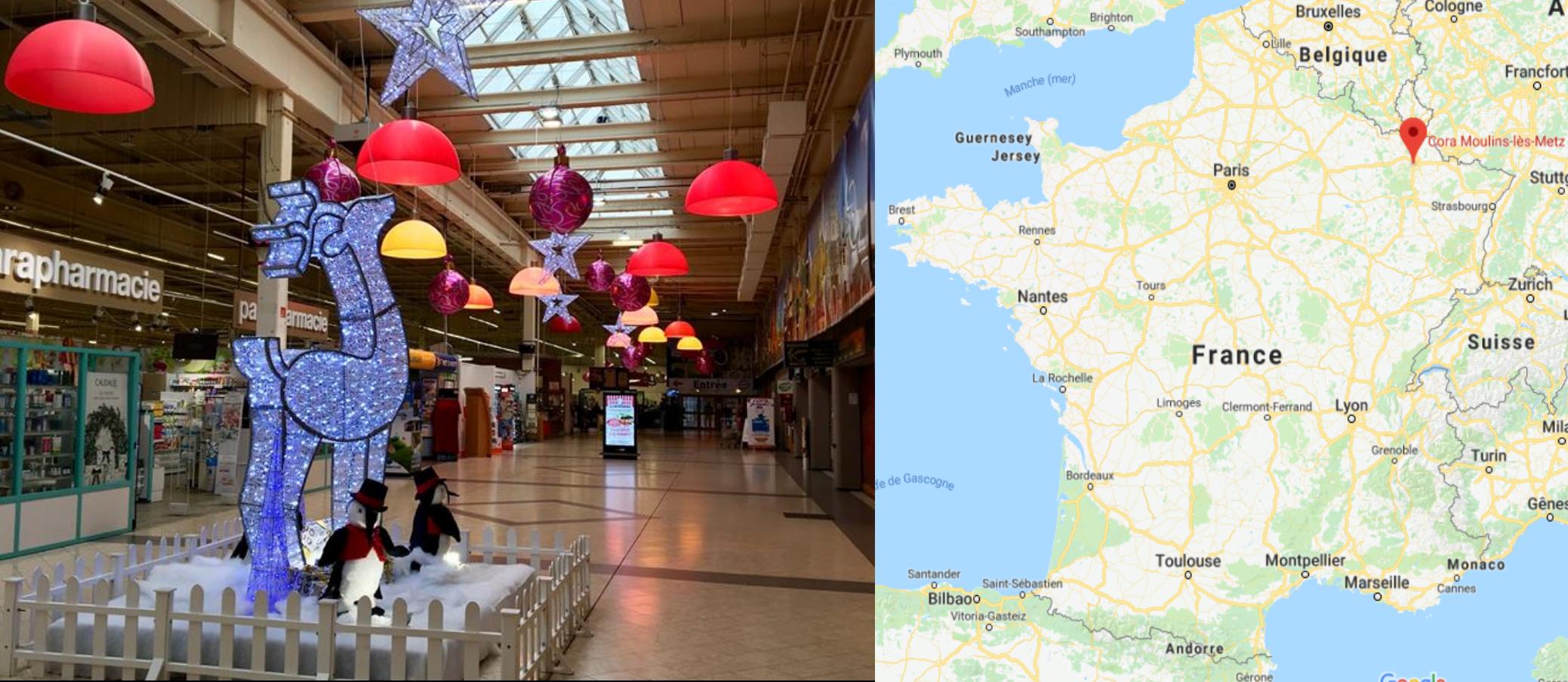 Centre commercial Cora Moulins-Lès-Metz