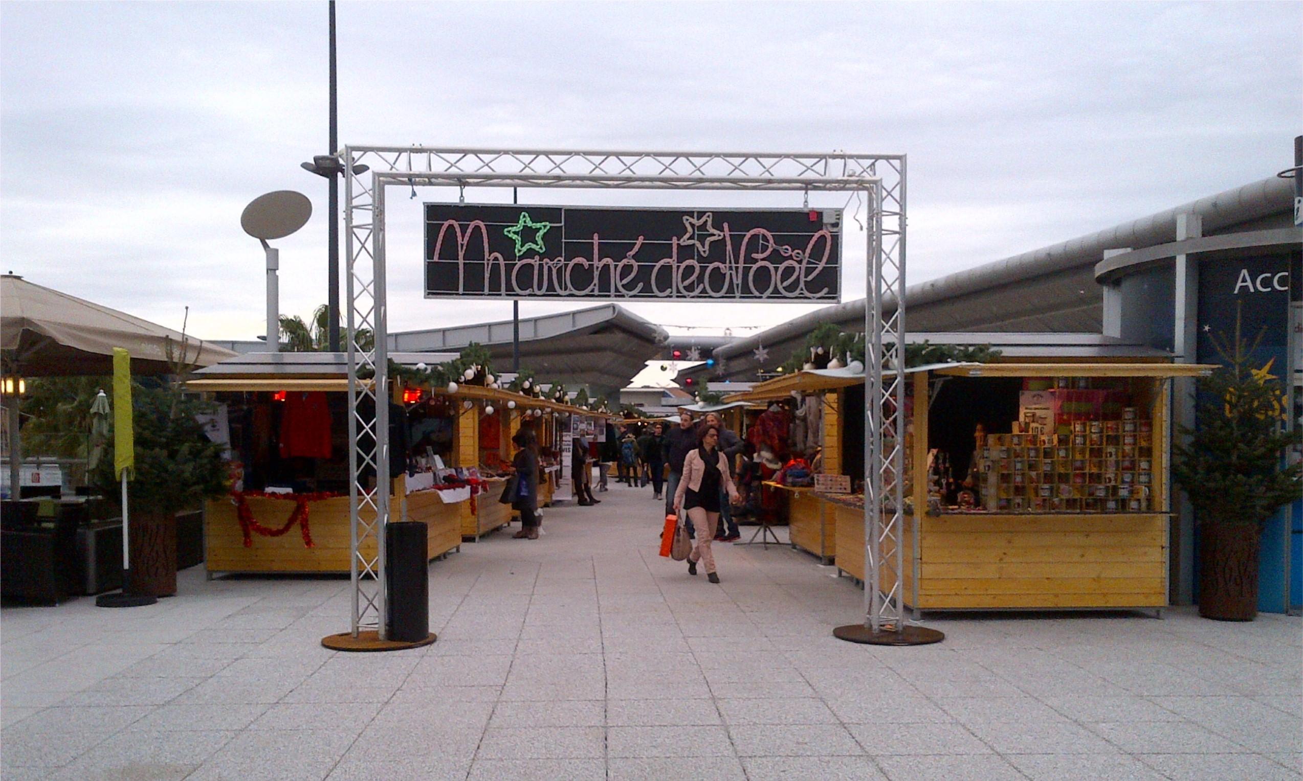 Marché de Noël du centre commercial Montpellier Odysséum