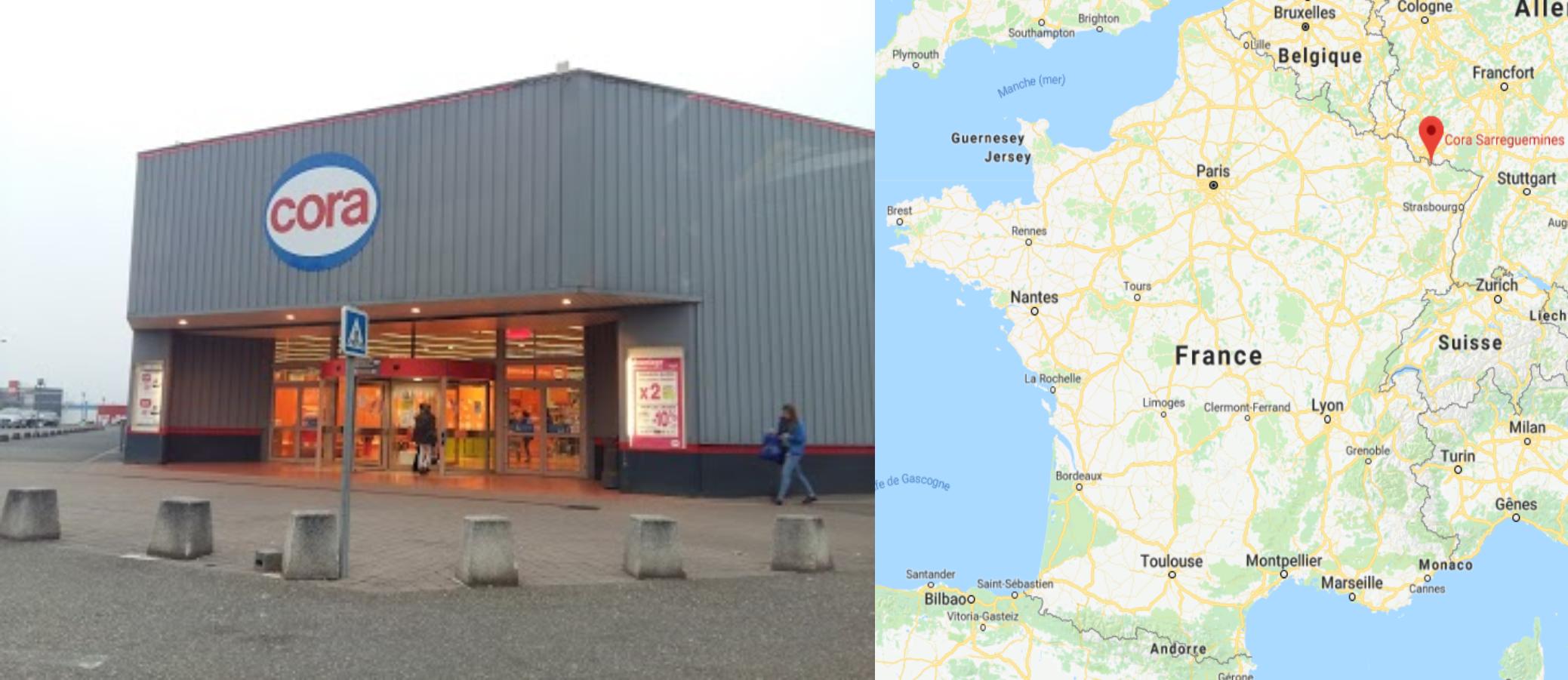 Centre commercial Cora Sarreguemines