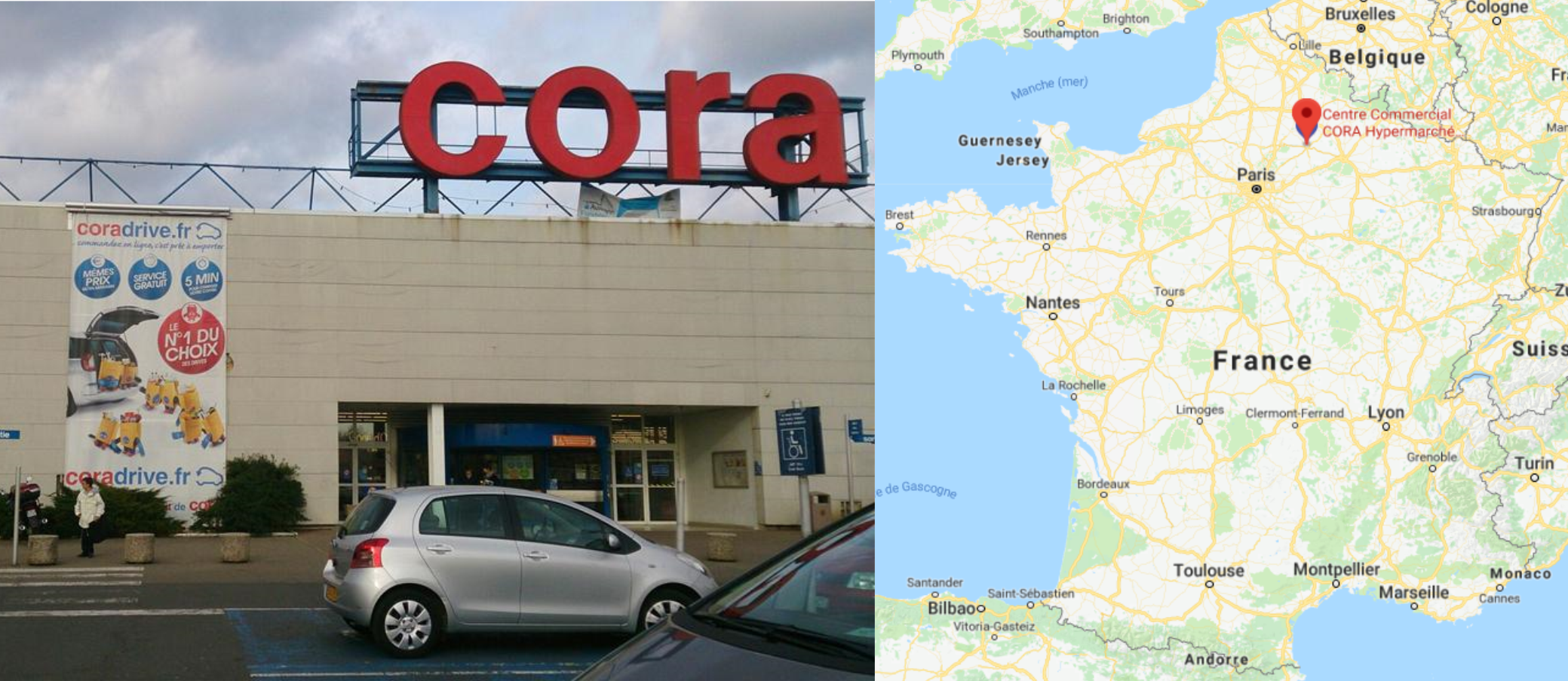 Centre commercial Cora Vichy
