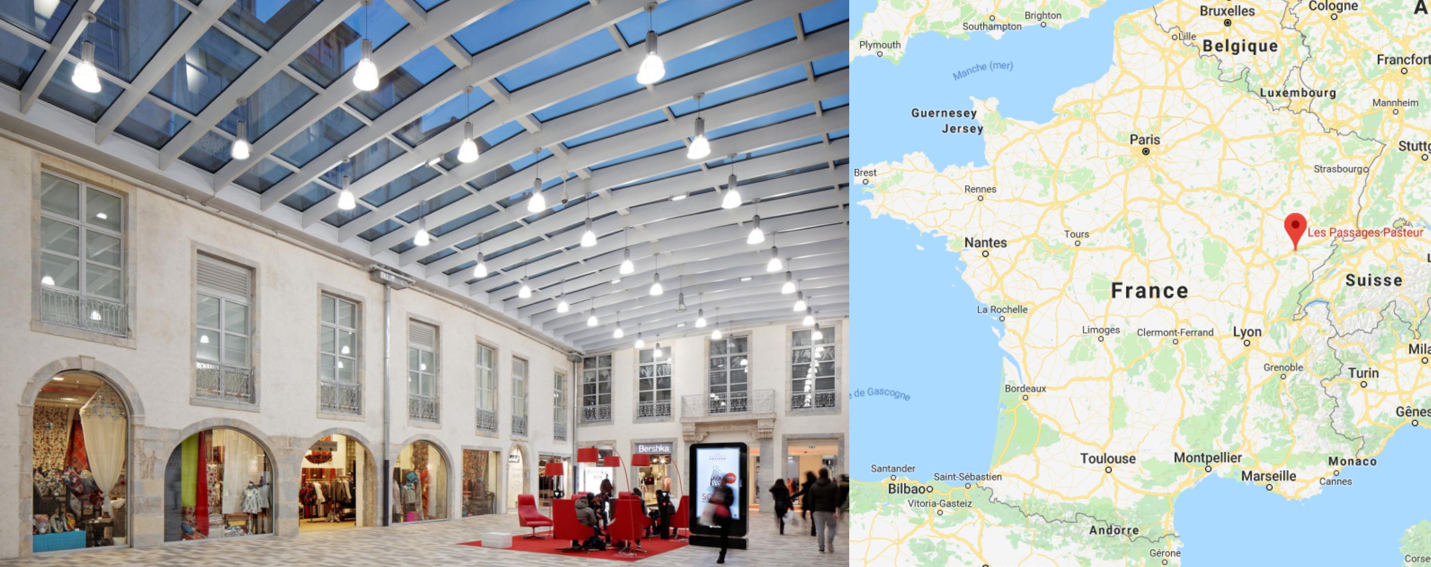Centre commercial Besançon Pasteur