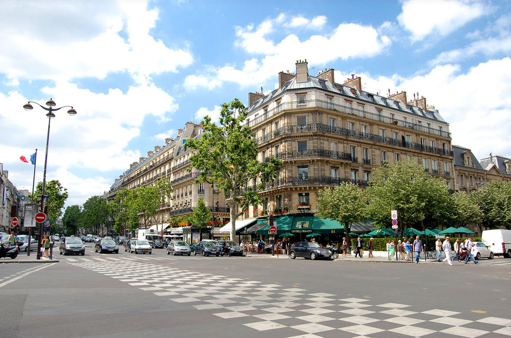 Boulevard Saint Germain à Paris