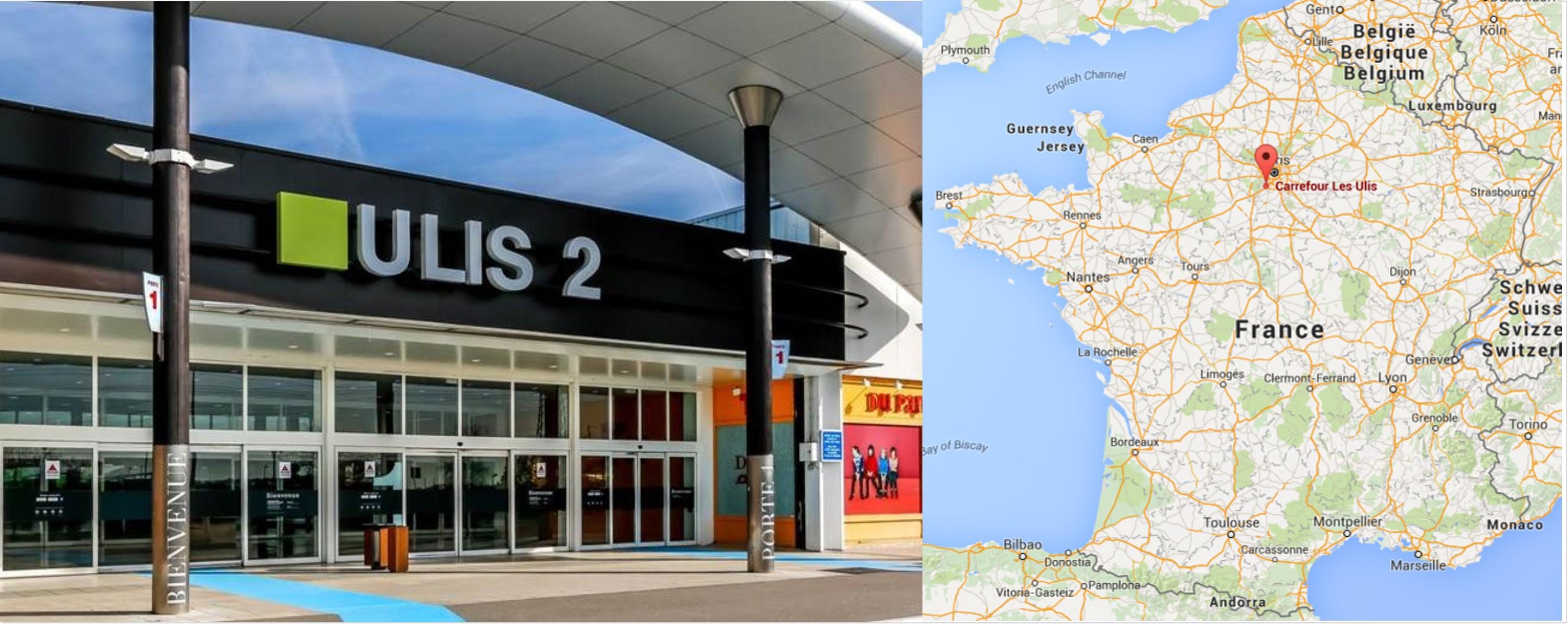 Centre commercial Les Ulis 2