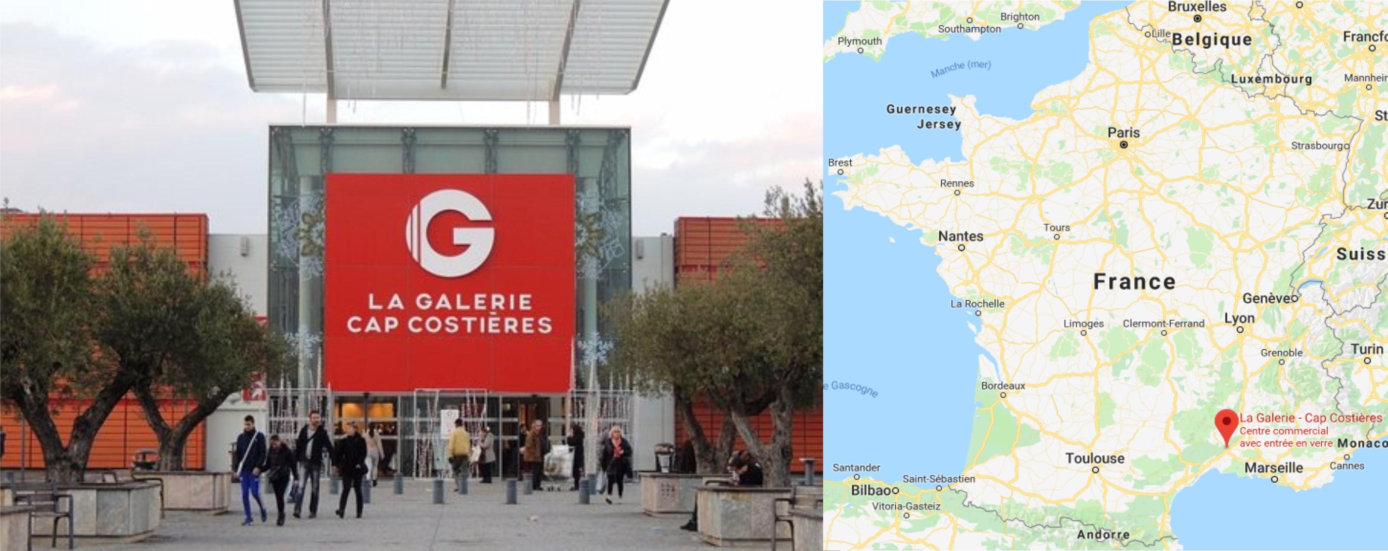 Centre commercial La Galerie Géant Cap Costières