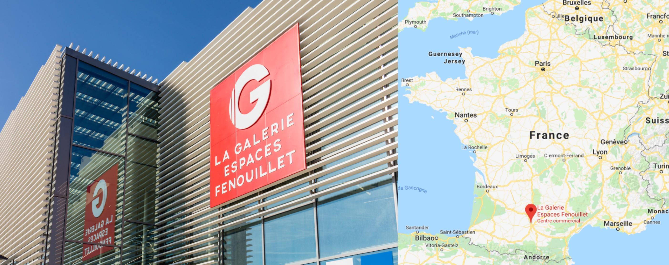 Centre commercial La Galerie Espaces Fenouillet