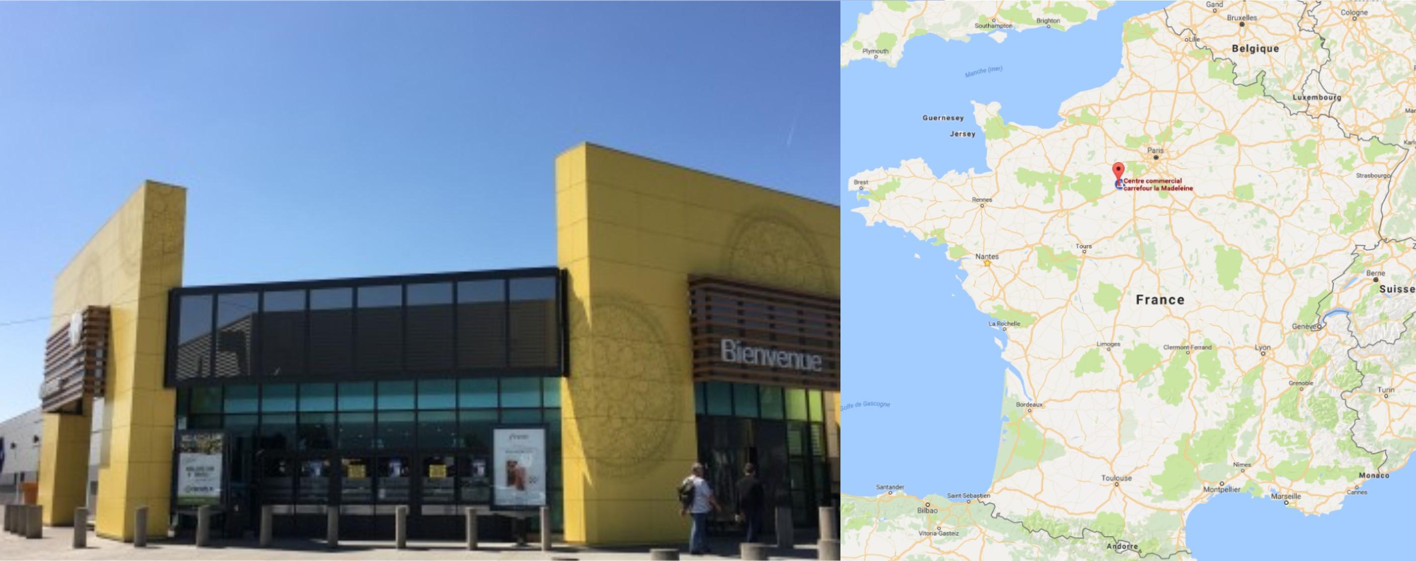 Centre commercial Carrefour La Madeleine