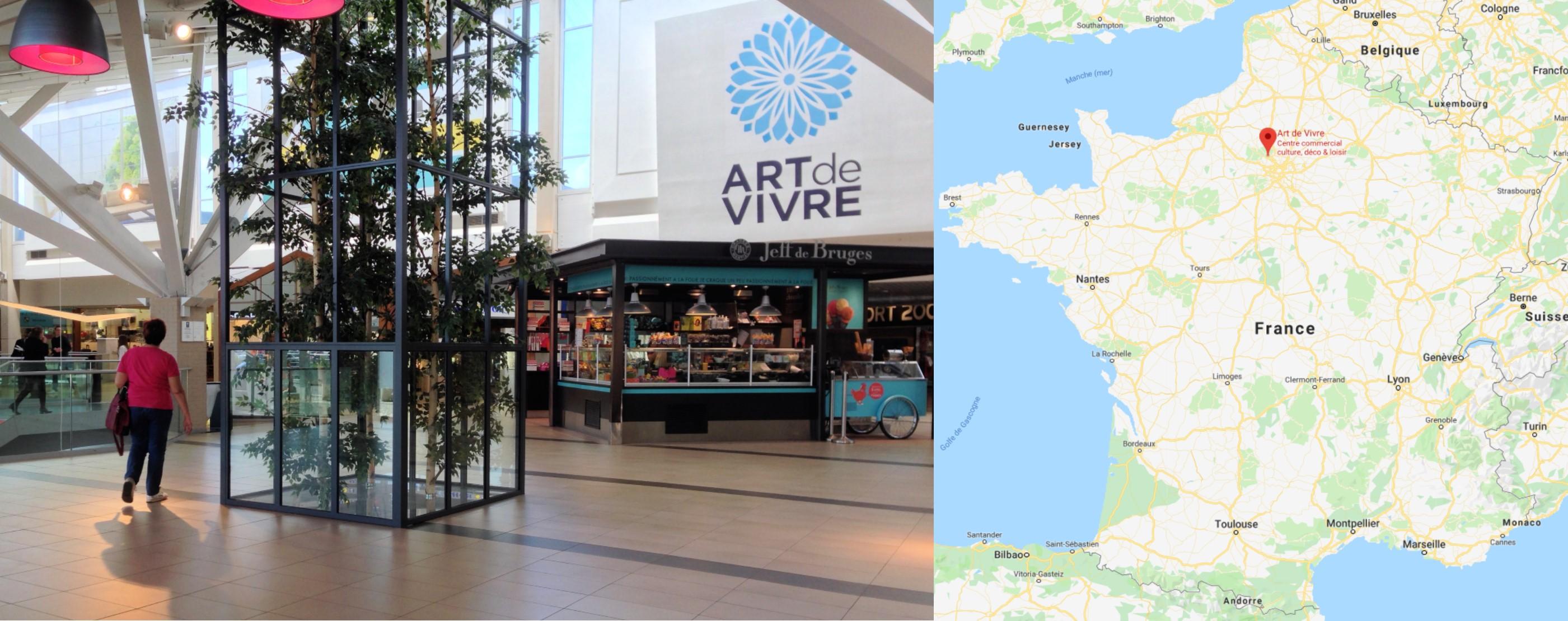 Centre commercial Eragny Art de Vivre