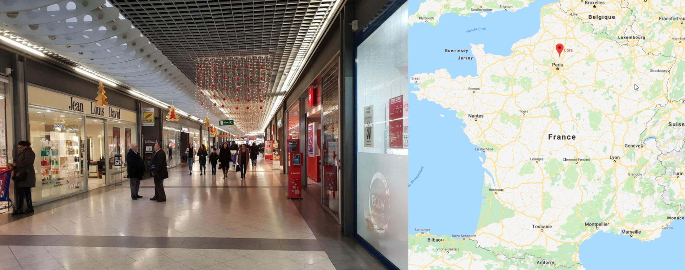 Centre commercial Saint Maximin à Creil