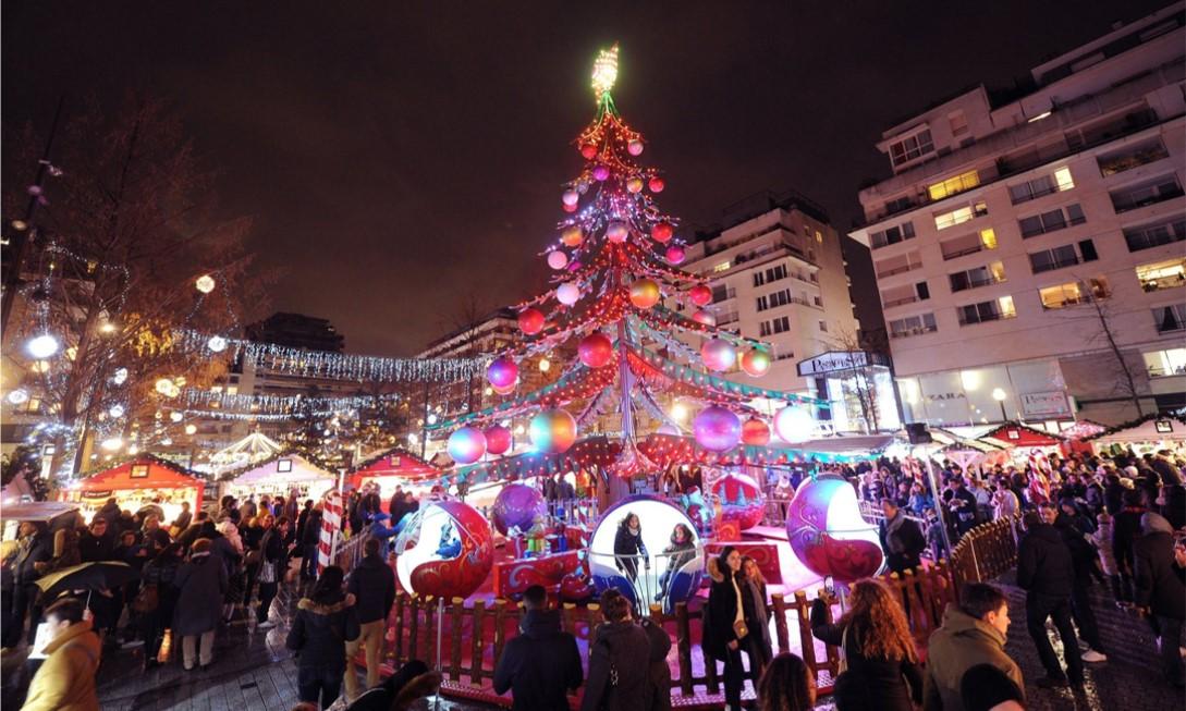 Marché de Noël de Boulogne-Billancourt
