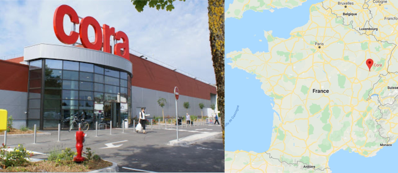 Centre commercial Cora Vesoul