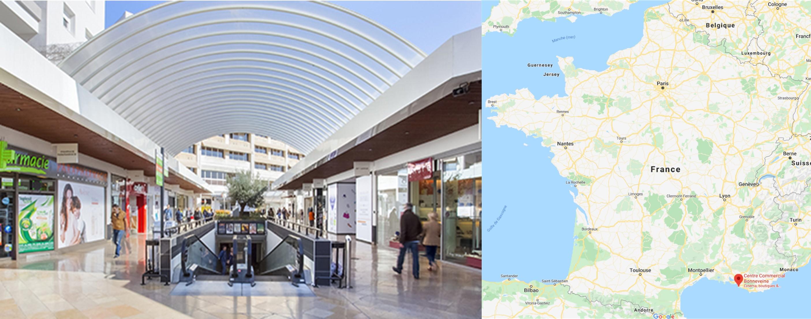 Galerie commerciale Bonneveine à Marseille