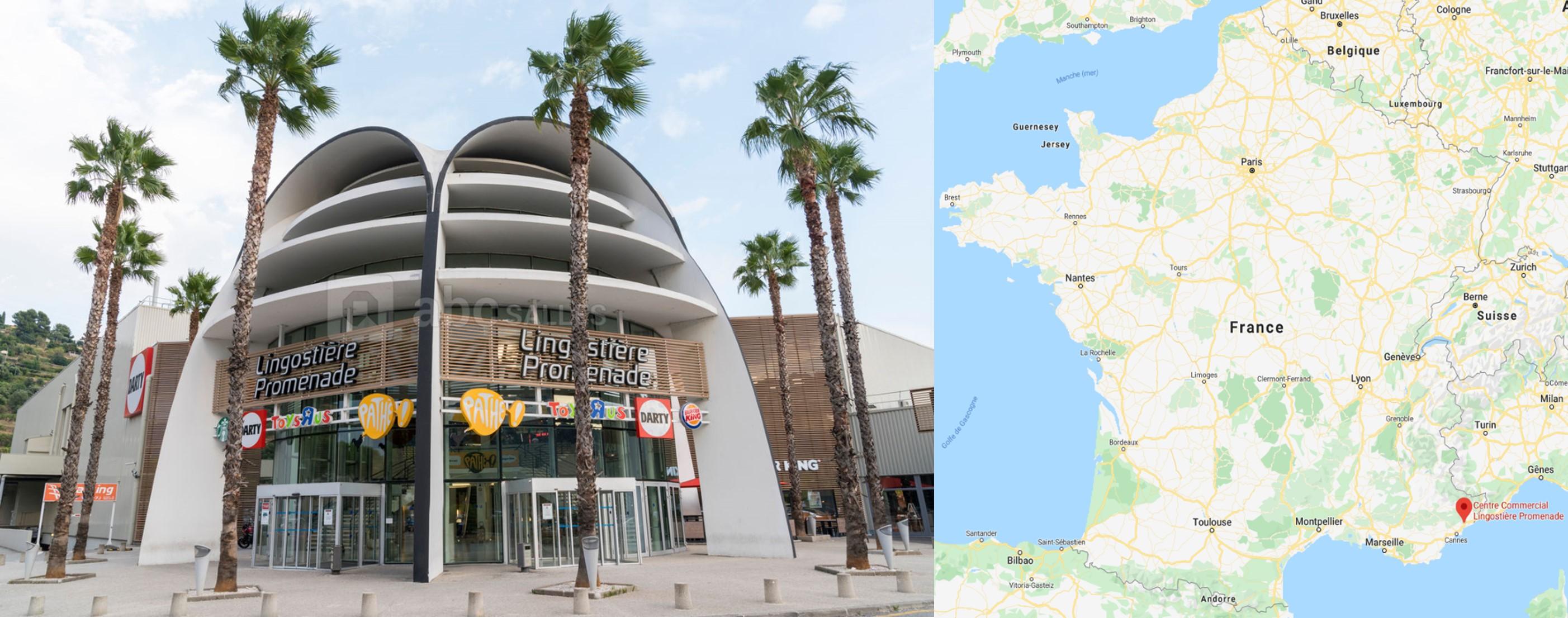 Galerie commerciale Lingostière Promenade à Nice